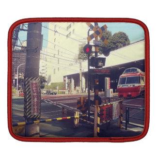 Train croisant le coque ipad du Japon
