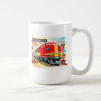 Train de Marklin Santa Fe Mug