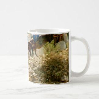 Train de paquet mug