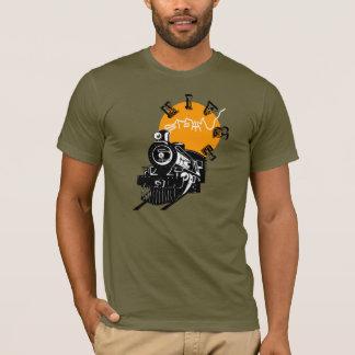 Train de vapeur t-shirt