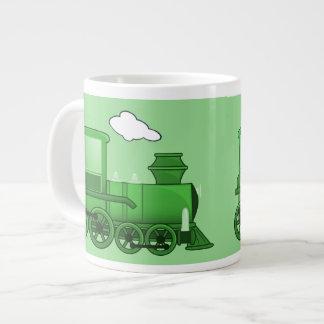 Train de vapeur tasse géante