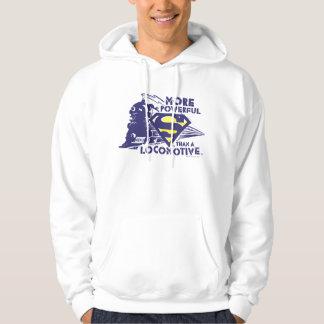 Train et logo veste à capuche