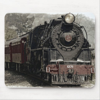 Train locomotif antique Mousepad de machine à Tapis De Souris