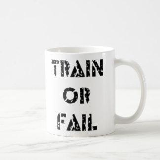 Train ou échouer mug