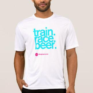 TRAIN.RACE.BEER. Gepaste Lopende T-shirt