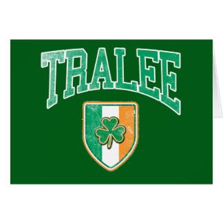 TRALEE Irlande Carte