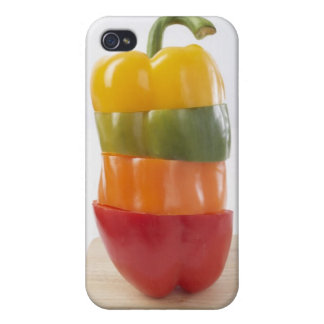 Tranches empilées de poivre coques iPhone 4