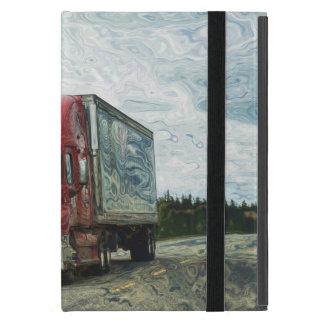 Transport lourd de conducteur de camion de étui iPad mini