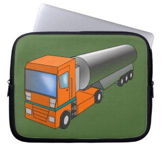 Transporteur lourd de camion-citerne aspirateur de protection pour ordinateur portable
