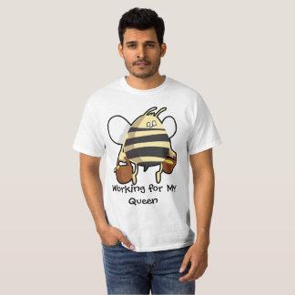 Travail pour mon T-shirt de reine des abeilles