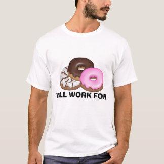 Travaillera pour le T-shirt de butées toriques