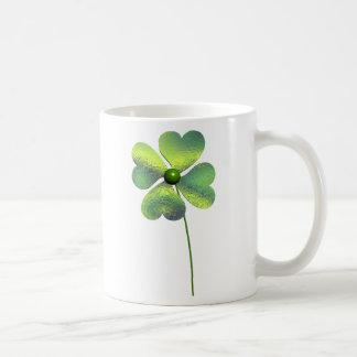 Trèfle de quatre feuilles mug à café