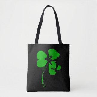 Trèfle de vert du jour de St Patrick - sac