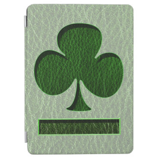 Trèfle irlandais simili cuir protection iPad air