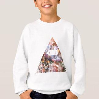 Triangle de galaxie sweatshirt