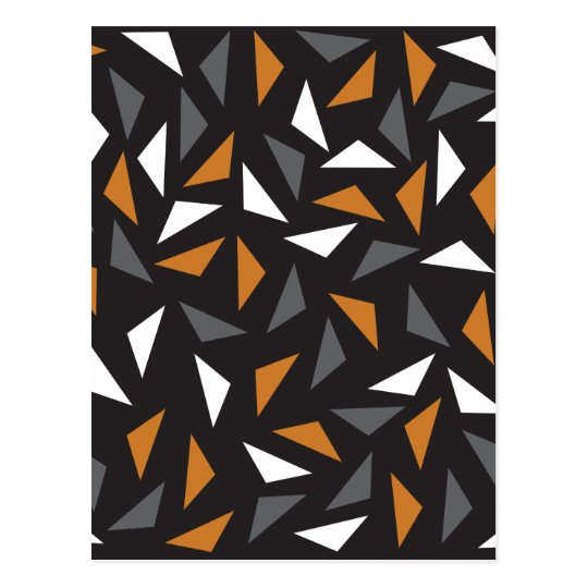 Triangles Animated Carte Postale