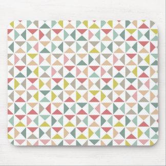 Triangles géométriques tapis de souris