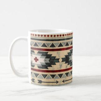 Tribal aztèque grunge mug