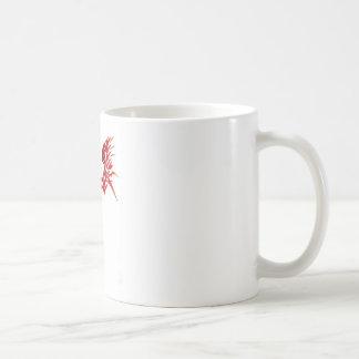 tribal phoenix mug