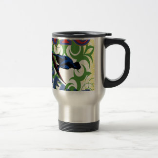 tribal surfant mug de voyage