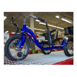 tricycle de pédale de Bas-équitation Carte Postale