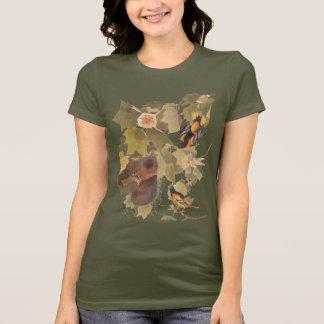 Trio d'oiseau de Baltimore Oriole T-shirt