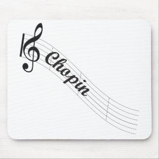 Triple de musique classique Chopin Tapis De Souris
