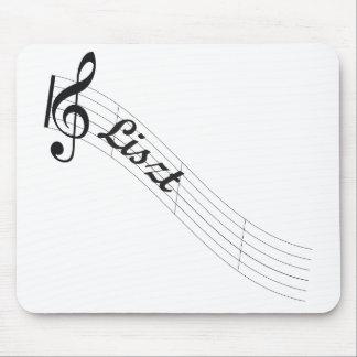 Triple de musique classique de Liszt Tapis De Souris