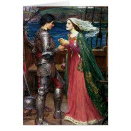 Tristan et carte de voeux d'Isolde