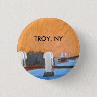 Troie, insigne de NY d'honneur Badge Rond 2,50 Cm