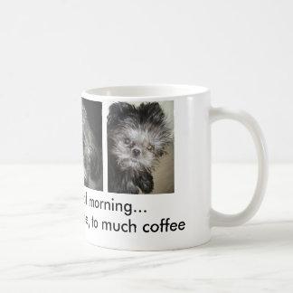 trois étapes de matin mug