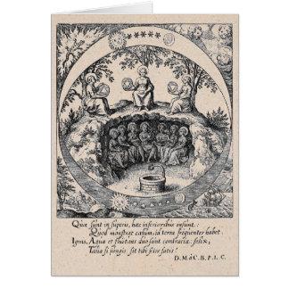 Trois soeurs d'alchimie carte de vœux