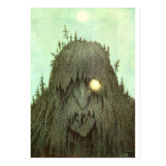 troll carte postale