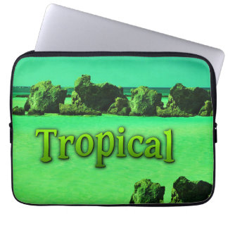 TROPICAL HOUSSE ORDINATEUR