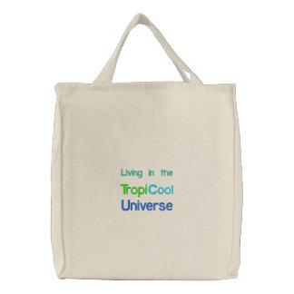 TropiCoolUniverse fourre-tout/sac de plage Sac Brodé