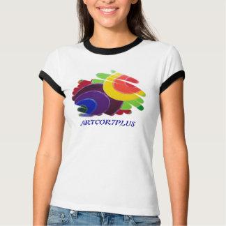 Tropique de T-shirt de sonnerie de dames