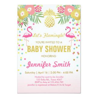 Tropische de uitnodiging van het Baby shower van