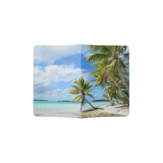 Tropische het paspoorthouder van het palmstrand paspoort houder