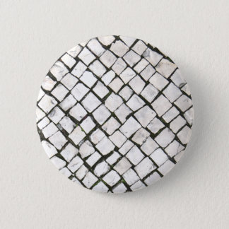 Trottoir portugais/Calçada Portuguesa Badge Rond 5 Cm
