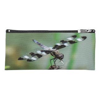 Trousse Sac de cosmétique de libellule d'écumoire repéré