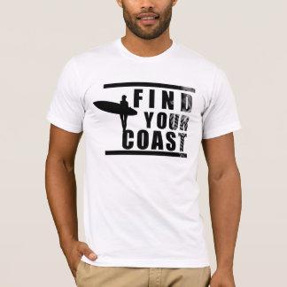 Trouvez vos hommes de pièce en t de côte t-shirt