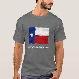Truckin à travers le Texas - T-shirt foncé de base