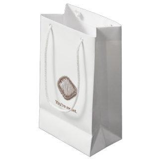 Truffes de chocolat petit sac cadeau