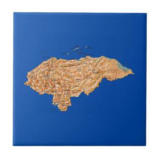 Tuile de carte du Honduras Carreau