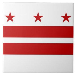 Tuile de drapeau de l'état de Washington Grand Carreau Carré