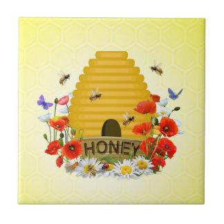 Tuile de ruche petit carreau carré