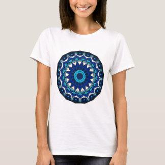 Tuile d'Iznik bleue, blanche, et de turquoise, T-shirt