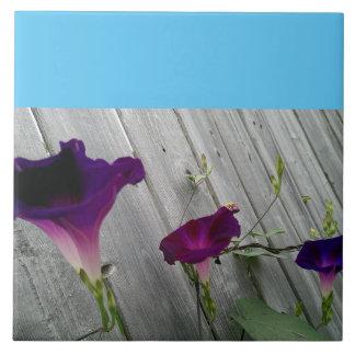Tuile en céramique florale de photo, grande carreau