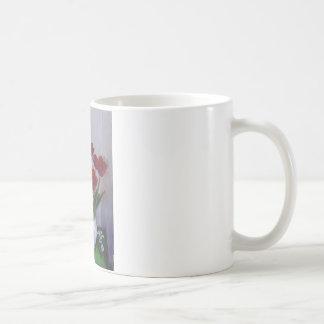 Tulipes dans le vase mug