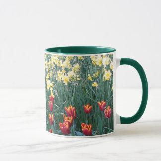 Tulipes et narcisse mug